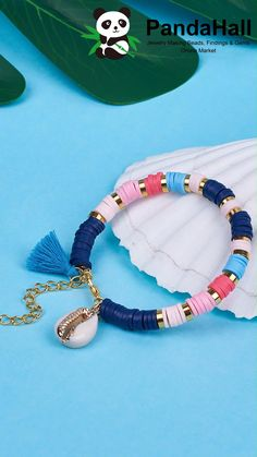Diy Bracelets Patterns, Diy Bracelets Easy, Bracelet Crafts, Bracelet Designs, Handmade Bracelets, Making Beaded Bracelets, Beaded Braclets, Polymer Clay Bracelet, Beaded Bracelets Tutorial
