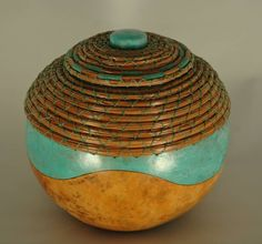 Pine Needle Coil Bowl gourd