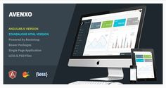 Buy Avenxo - Responsive AngularJS + HTML Admin by KaijuThemes on ThemeForest. Avenxo is built ground up to be the most developer friendly theme in the marketplace. With multiple color schemes and. Jquery Ui, Bootstrap Template, Admin Panel, Web Application, Business Website, Website Template, Web Design, Design Ideas, Wordpress