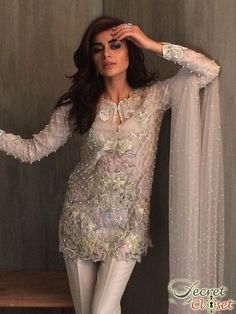 Khadijah Shah puts the luxe in luxury with this latest Eid campaign shoot with Nadir Firoz Khan and Sadaf Kanwal. Innately opulent the label exudes glamour from all angles. Magnificent handworked m…