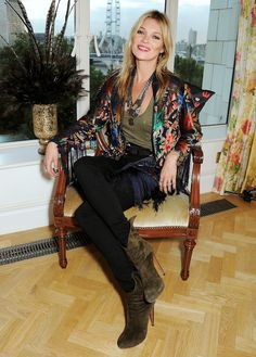 Kate Moss Style Kimono
