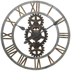"Howard Miller Crosby 30"" Wide Wall Clock 