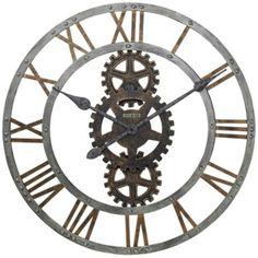"Howard Miller Crosby 30"" Wide Wall Clock   LampsPlus.com"