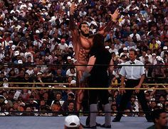 Giant Gonzales Vs. The Undertaker