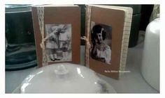 leuke notitieboekjes met verschillende plaatjes  helemaal Vintage! =)