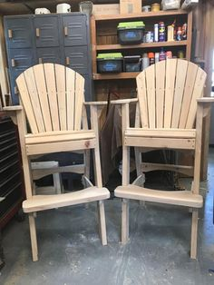 I purchased your construction instructions and templates for the tall Adirondack Chairs back in early April. I wanted to let you know that I would give you a 5-start rating. Your design is great and the assembly of these chairs was painless since all of the pieces fit perfectly. I built the chairs using cypress and without saying any more, I was very pleased with them. I will certainly keep you in mind for a source for drawings of my future projects. Regards, Jim Jordan