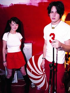 Meg and Jack White / The White Stripes