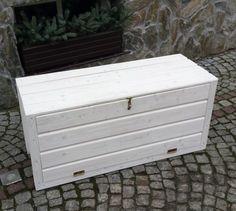 Holztruhe Gartentruhe Schrank Truhe Auflagenbox Kissenbox Gartenbox Box Auflagen in Garten & Terrasse, Möbel, Auflagenboxen | eBay!
