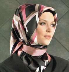 Current season Armine Turkish Silk Hijab Scarves from designer brand Armine's Spring Summer 2017 Collection. Bandanas, Hijab Turkish, Turkish Wedding, Head Scarf Styles, Eid Dresses, Fall Scarves, Islamic Clothing, Portrait Poses, Beautiful Hijab