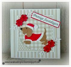 card critters dog Marianne design die set Dachshund    HandmadebyHermien
