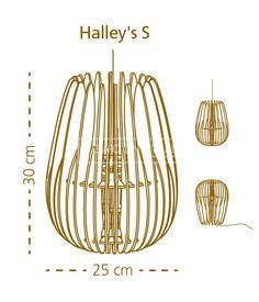 De Halley S van het Portugese Merk Bomerango. Gemaakt van houten boemerangs. Wist je dat: De boemerangs uiterst nauwkeurig met een laser zijn gesneden? Hierdoor hebben de randen van het hout een natuurlijke bruingebrande kleur. | Gewoonstijl