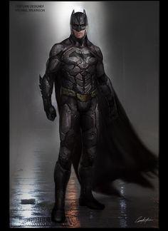 ArtStation - Batman v Superman early exploration, Constantine Sekeris