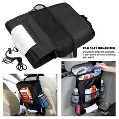 Car Seat Back Warmer Cooler Organizer Bag with Tissue Box Drinks Holder  Gadget Shop dadd0dae968bf