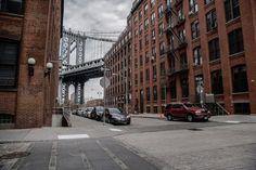 Brooklyn streets - Manhattan Bridge (DUMBO)