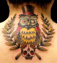 38 Best New School Owl Tattoo Images Owl Tattoos Owl A Tattoo