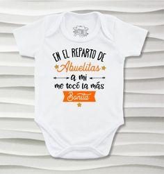 Bodys o mamelucos para bebé con lindos y amorosos diseños para los queridos abuelitos