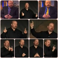 Jonathan Bernis Masonic Hand Sign Collage