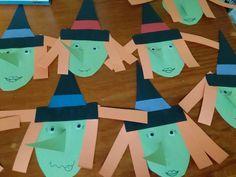 Halloween witch daycare kid toddler craft