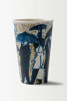Gwyneth Leech Porcelain Sculpture Latte Cup   #anthropologie