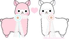 rinicake:  transparent alpacas for yo dash