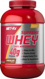 Met-rx Supreme Whey Peaches & Cream 2268 g