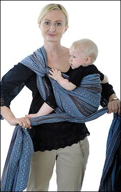 How To Tie Baby Wrap Pinterest