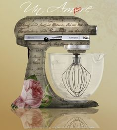 KitchenAid Mixers - Un Amore Custom