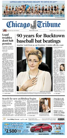 May 23, 2014: 90 years in prison for man convicted of Bucktown baseball bat beatings.