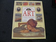 Book A Child's Book of Art Great Pictures First by booksvintage, $75.00