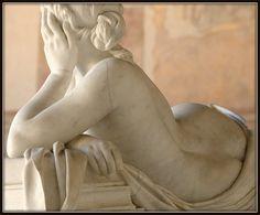 FABRIZIO Ottaviano - Italian (1791 - 1863) ~ Tomb of MOSSOTTI / Pisa Campo Santo