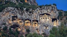 Lycian Rock Tombs in Turkey – Temple-Tombs Carved In a Cliff
