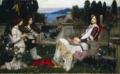 John William Waterhouse - St. Cecilia, 1895