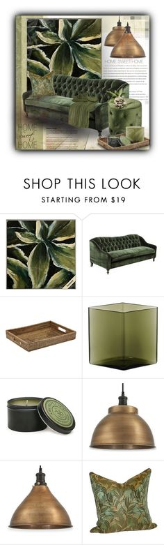 """""""Hoom Sweet Home"""" by sapora on Polyvore featuring interior, interiors, interior design, home, home decor, interior decorating, Universal Lighting and Decor, Trilogy, Kim Salmela and Ave Six"""