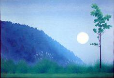 Kaii higashiyama 東山魁夷 Watercolor Landscape, Landscape Art, Landscape Paintings, Landscapes, Watercolor Pattern, Watercolour, Contemporary Landscape, Japan Art, Oriental