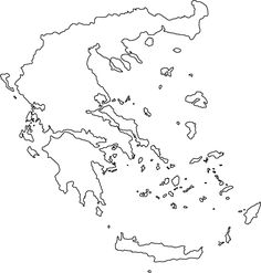 Free Coloring Maps For Kids Greece Coloring Page 25 Icirc Middot