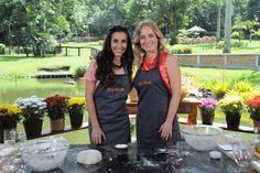 Tânia Khalill e Angélica se divertem na cozinha (Foto: Divulgação / Rede Globo)
