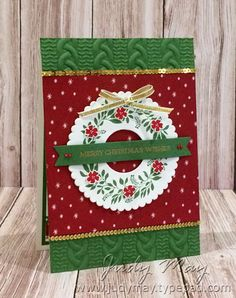 Stampin' Up! Hello Friend for Christmas - Judy May, Just Judy Designs, Melbourne