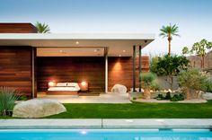 Open Type Grass Garden Exterior Design for Rest Place #Place #Rest #Design #Mayawati