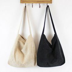 Women Simple Corduroy Handbag Female Vintage Solid Big Eco Casual Tote Spring Autumn Girls Shoulder Bags Bolsa Canvas Sac a Main Fabric Handbags, Tote Handbags, Dr Shoes, Shoes Heels, Tote Bags For School, High School Bags, Diy Tote Bag, Cute Tote Bags, Cheap Tote Bags