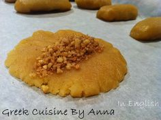 Greek Cuisine By Anna: Μελομακάρονα (Melomakarona)-Small honey cakes