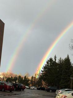Just a double rainbow, nbd