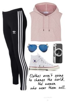 """""""Untitled #33"""" by aeb02 on Polyvore featuring adidas, Converse, Victoria Beckham and Casetify"""