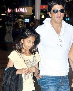 with Suhana - looks like an old pic