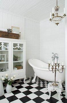 Art Deco Style Bathroom
