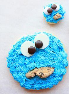 A mi pequeño monstruo de las galletas le encantaría!