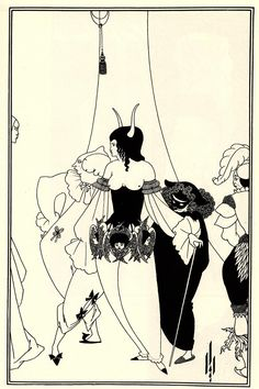 The Mirror of Love - Aubrey Beardsley - WikiArt.org