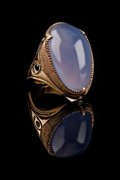 Ellensburg blue - this stone is so beautiful. It looks like there's a light inside it. When you hold it up to the sun, watch out, it changes color!