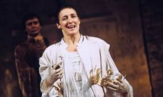 Something of a queen ... Fiona Shaw as Richard II. Photograph: Tristram Kenton