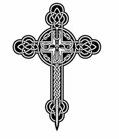 Celtic Cross Decal for Homes and Car: Celtic by ArtisticAttires