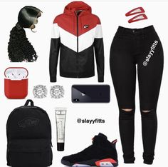 Stylish outfits - Outfits for Teens Baddie Outfits For School, Baddie Outfits Casual, Swag Outfits For Girls, Boujee Outfits, Cute Swag Outfits, Teenage Girl Outfits, Cute Outfits For School, Teen Fashion Outfits, Sporty Outfits